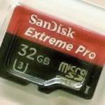 SanDisk Extreme Pro microSDHC™