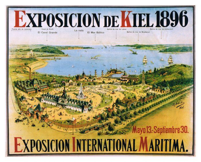 Kiel Ausstellung 1896