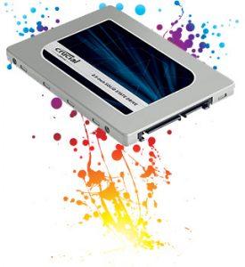Foto: SSD Crucial MX300